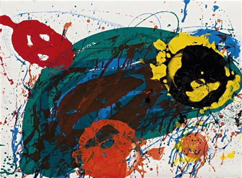 for thirteen by sam francis
