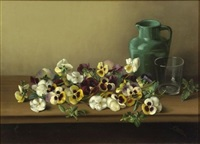 pansies by franklin harrison miller