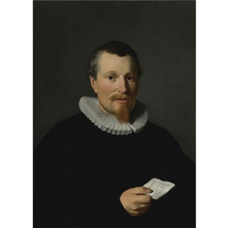 portrait of jan bruyn by thomas de keyser