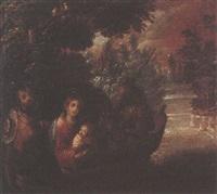la huida a egipto by family arellano