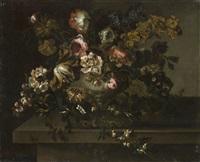 vaso con fiori by antoine monnoyer