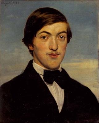 portrait von dr ludwig august preyß by heinrich von angeli