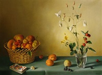 still life of fruit by fernand renard