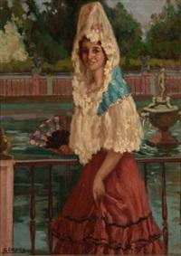 dama goyesca by alfonso grosso y sánchez