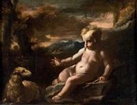 san giovannino (+ gesù bambino; 2 works) by domenico antonio vaccaro