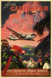 fly to the carribbean by clipper by mark von arenburg