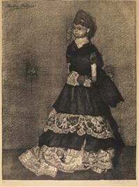 decaduta (la bambola) by llewelyn lloyd