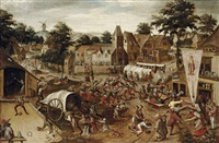 a village kermesse on saint george's day by pieter balten