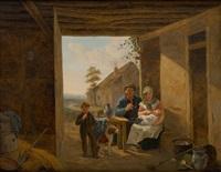 une heureuse famille by constantinus-fidelio coene