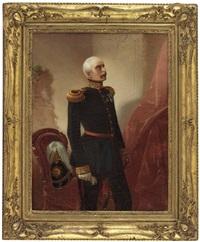 portrait eines deutschen offiziers by carl porttmann