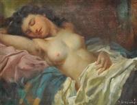 a semi-nude by marcel krasicky