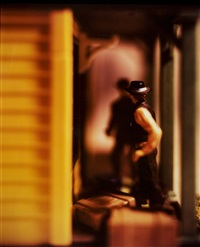 ohne titel (+ another; 2 works from the wild west) by david levinthal