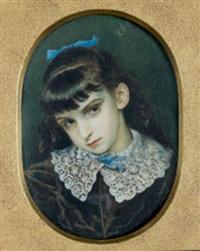 portrait d'andrée réalier-dumas by princesse marie eristoff-kasak