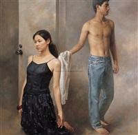 门的幻想 (door's illusion) by yuan zhengyang