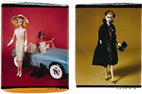 untitled (from barbie millicent roberts)(+ untitled; 2 works) by david levinthal