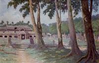 temple de banteay kdei à angkor by rené bassouls
