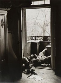 allemagne. leipzig, 18 avril 1945 by robert capa