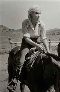 marilyn monroe in the misfits by bruce davidson