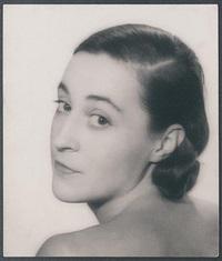 portrait of katia krassina by lee miller