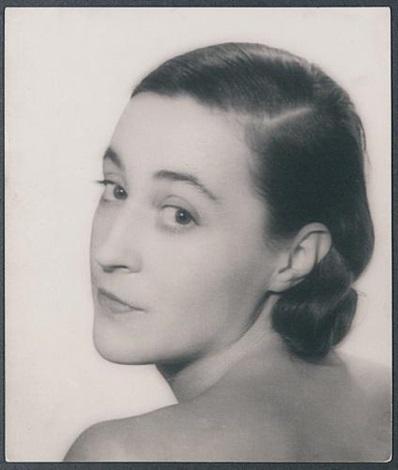 portrait of katia krassina by lee miller