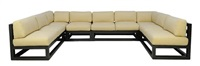 malibu outdoor sectional (6 elements) by kreiss furnishings