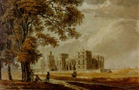 windsor castle from the south-east by james miller