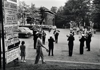 brass band, chautauqua by robert frank