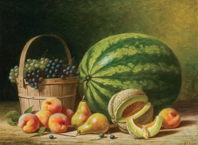 still life with fruit by albert francis king on artnet
