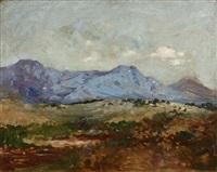 granite mountain, snoqualmie pass, wa by john bond francisco