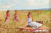 summer picnic by lorna millar