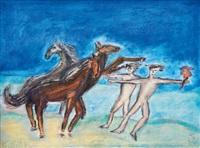die pferdebändiger by walter teutsch