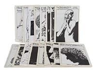 assorted 'zines (16) by raymond pettibon