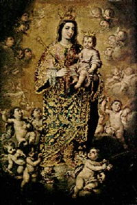 the virgin of the rosary by peruvian school (18)