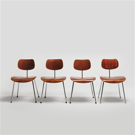 chairs 4 works by egon eiermann