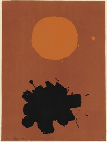 expanding by adolph gottlieb