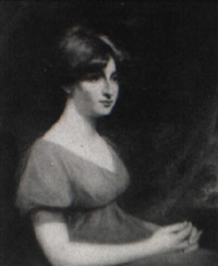 portrait of sarah, wife of robert fellowes, norfolk, england by william artaud