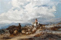 homeward bound across the moor by harden sidney melville