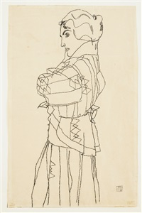 friederike maria beer by egon schiele