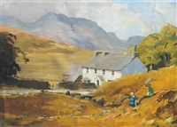 west of ireland scene by kitty wilmer o'brien