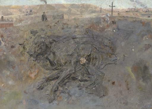 perro muerto by antonio lópez garcía