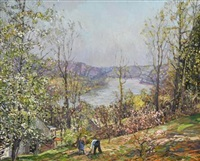 spring by edward willis redfield