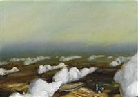 low cumulus clouds by dan attoe