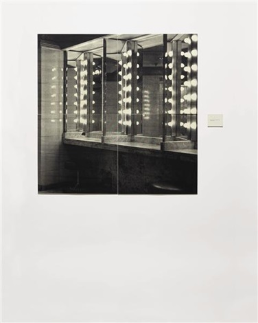the bathroom in 4 parts by lorna simpson