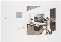 chiara and chair by richard hamilton