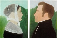profile portraits of the chapin family by ruth henshaw miles bascom