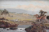 nr dolwyddelen on the lledr by william henry mander