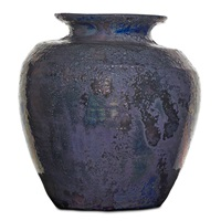 large vessel by pewabic pottery