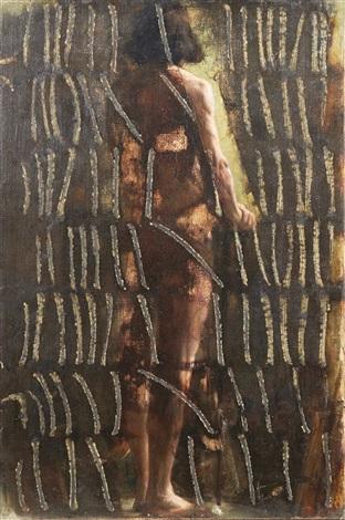 Une femme se montre nue devant le gars du service de chambre