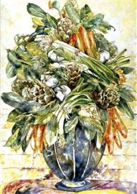 natura morta in vaso by gioia villanova