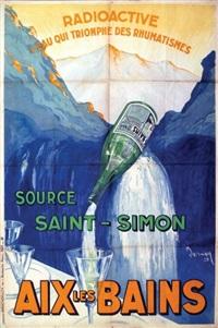 aix les bains source saint-simon by dormoy